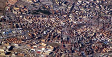 vista aérea mostoles